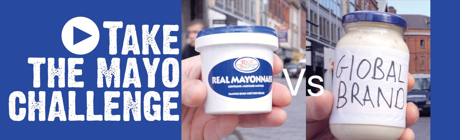 What is the worlds best catering supplies mayonnaise? Must watch for food service BIZ