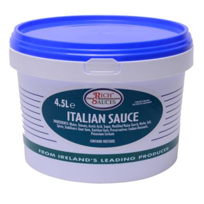 Grab a slice of the profits with our Italian sauce