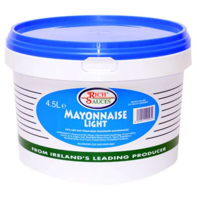 Give your customers a lighter option with our light mayo
