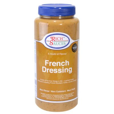 Voila! It's our award winning french dressing