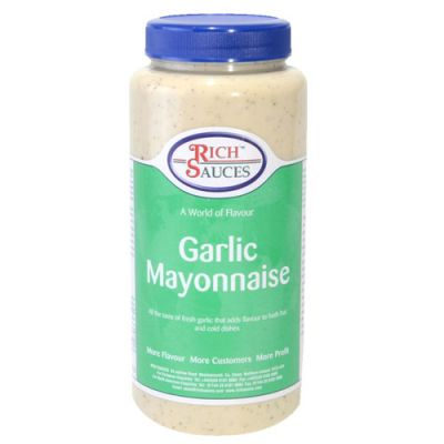 The Best Garlic Mayonnaise this side of the Med