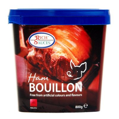 Add flavour and density with our low salt bouillon