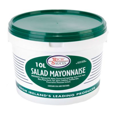 Versatile salad mayo fit for any emperor