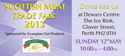 Meet us at Scotlands Number One Meat and Butchery trade fair