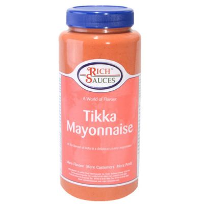 A tikka mayonnaise to tickle your taste buds
