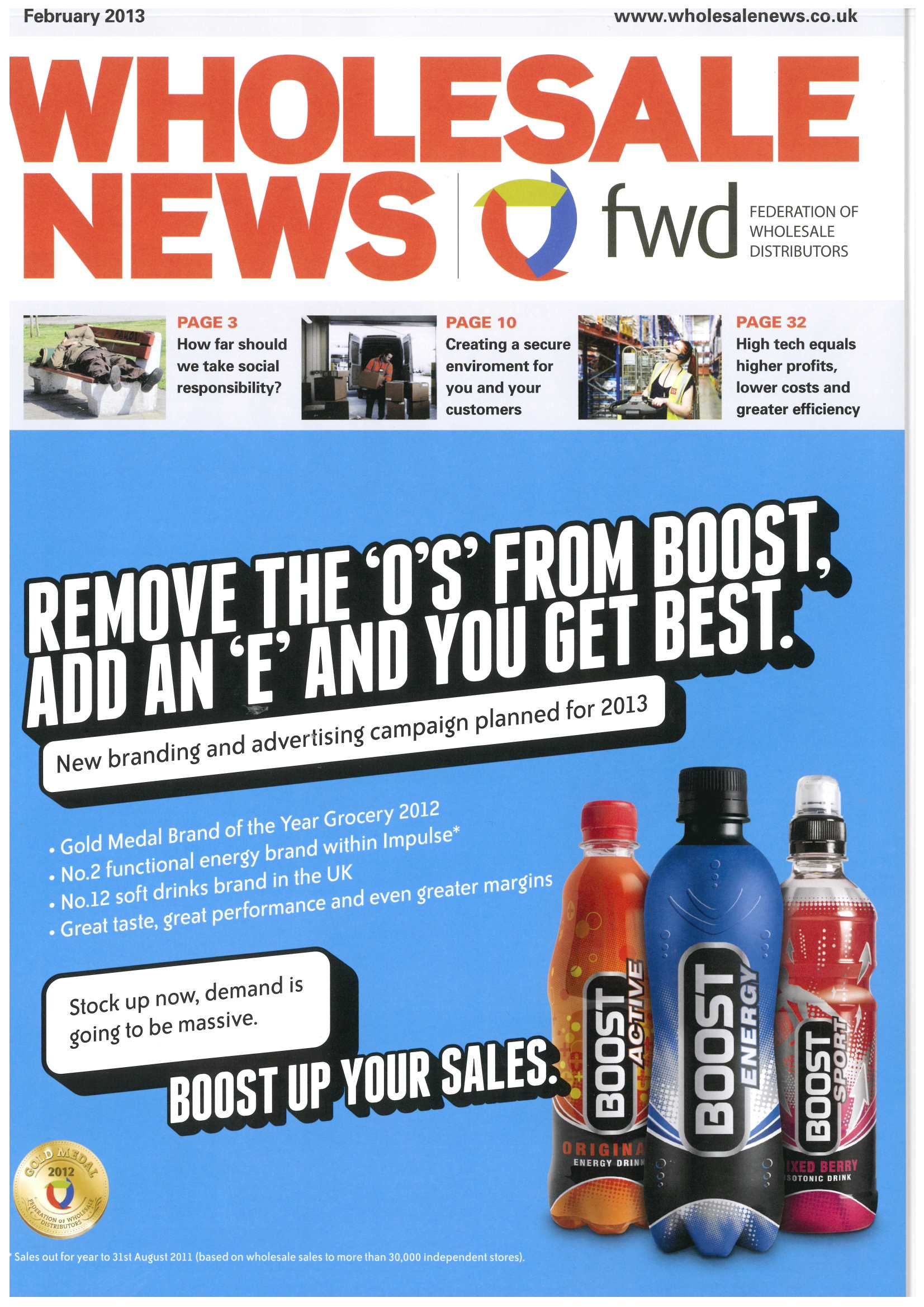 Wholesale News - February 2013 Rich Sauces Editorial