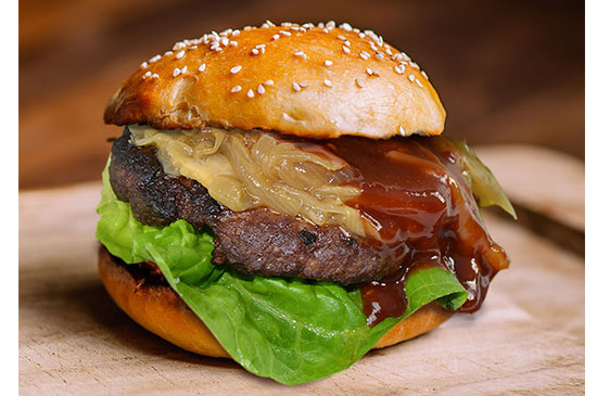 Chipotle BBQ Burger With Award Winning Wholesale Sauces