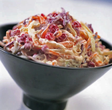 Sweet Chilli Cranberry Coleslaw