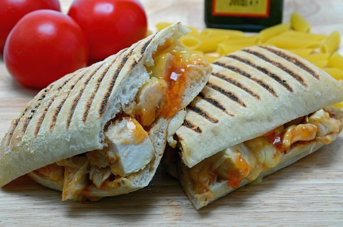 Sweet Chilli Chicken Panini