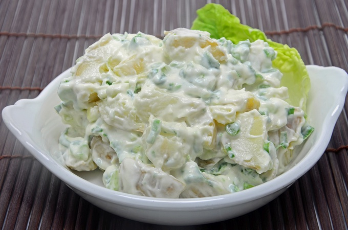 Worlds best potato salad