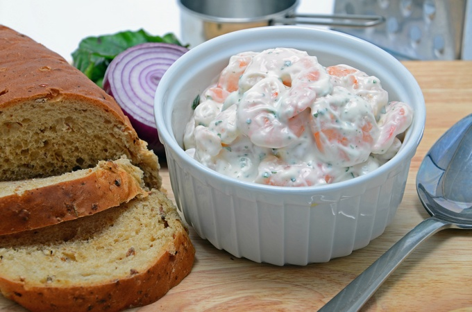 Prawn Garlic Mayonnaise Sandwich Mix USA
