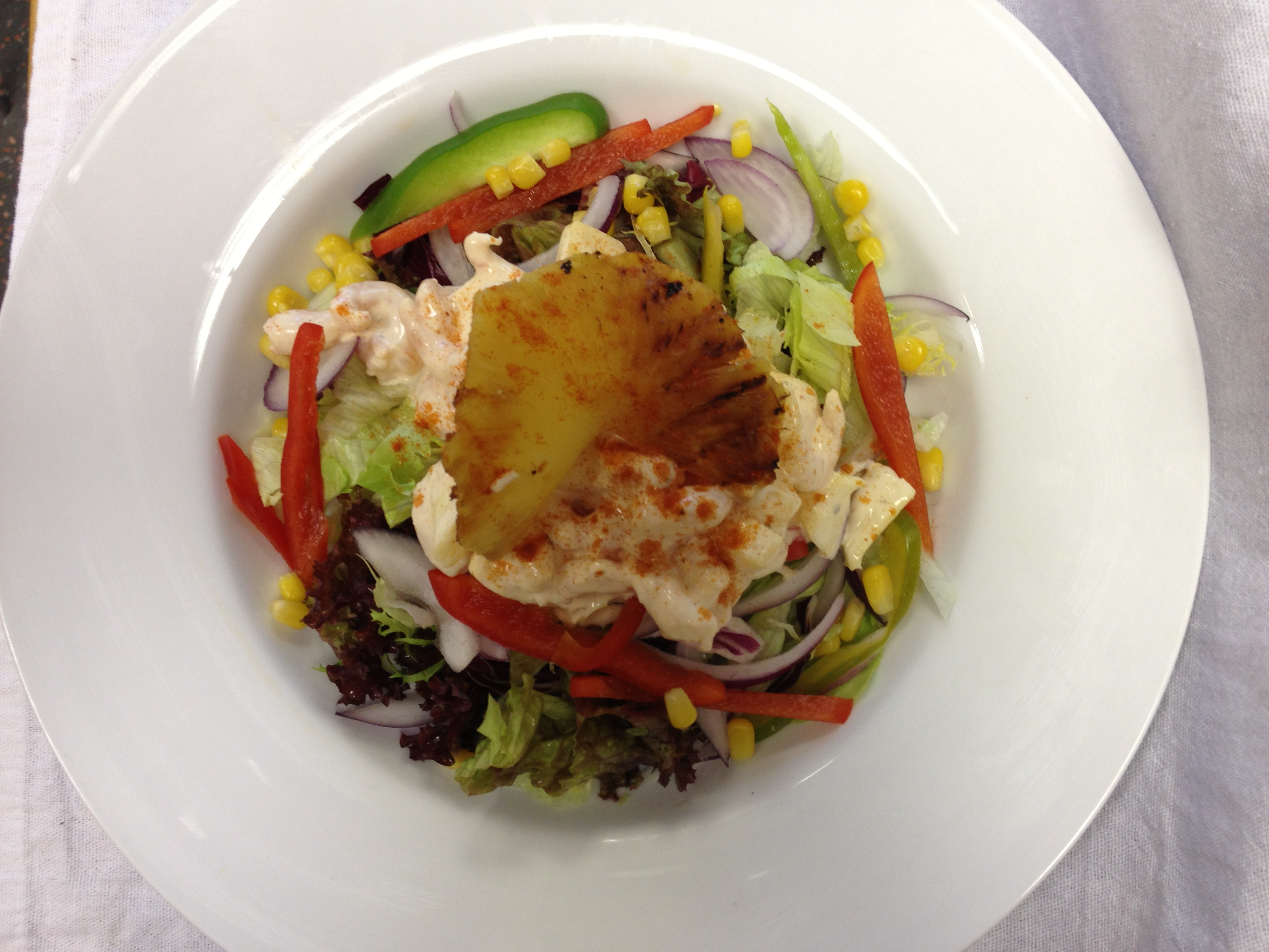 Hawaiian Prawn Salad