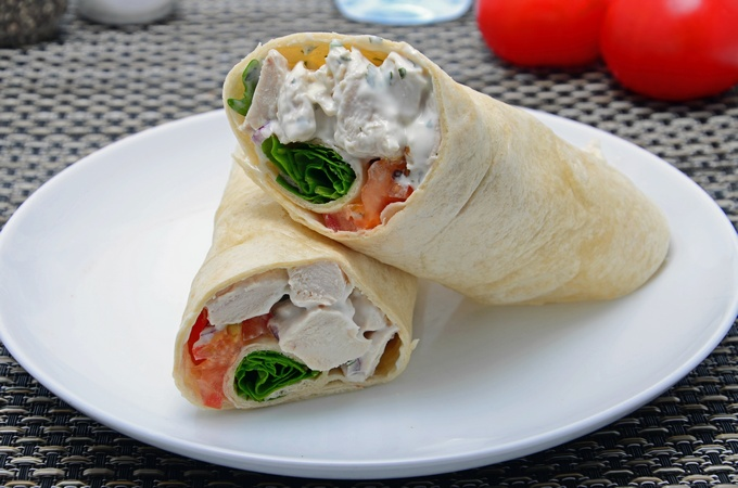 Chicken Mayonnaise Wrap