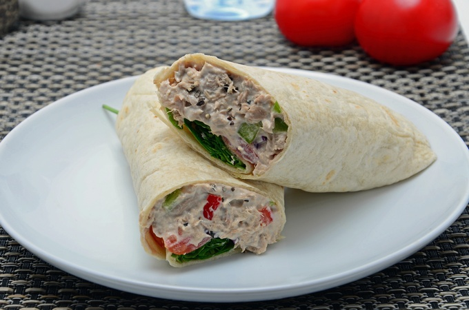 Tuna Pepper Wrap
