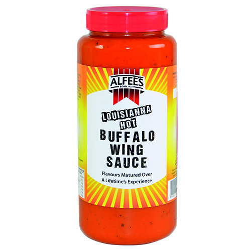 Alfee's Louisiana Hot Buffalo Wing Sauce