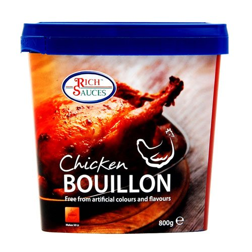 Rich Sauces Great Taste Award winning chicken bouillon the perfect catering supplies
