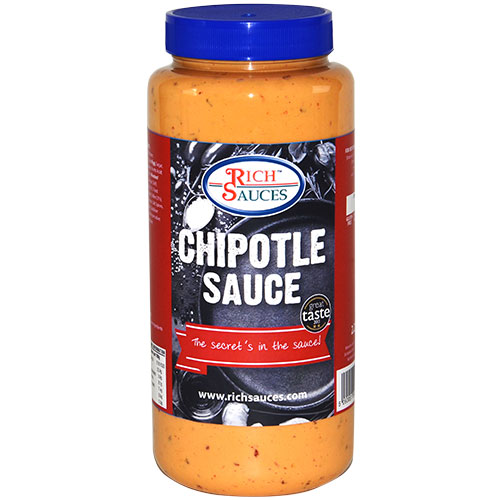 Rich Sauces Great Taste Award winning 2.2 Chipotle sauce is a great catering supplies alternative to Subway South West sauce. Perfect for busy casual dining food service business