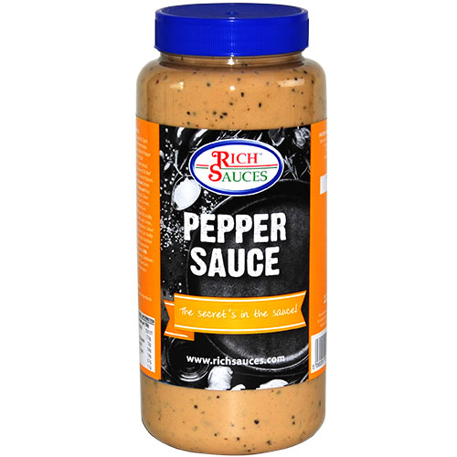 Rich Sauces 2,2 Pepper sauce Recipe catering supplies