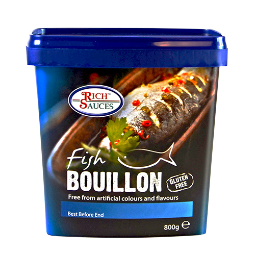 Rich Sauces Great Taste Award winning Fish bouillon the perfect catering supplies